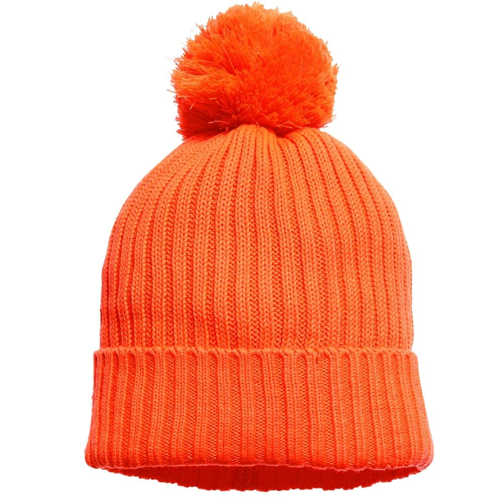 Stella McCartney Kids Orange 'Tweedle' Bobble Hat