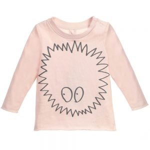 Stella Mccartney kids Girls Pink Long-Sleeved 'Georgie' T-Shirt