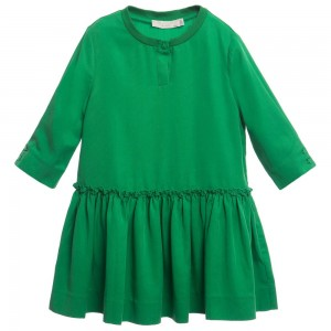 Stella Mccartney kids Green 'Kiwi' Dress