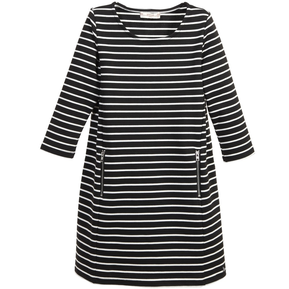 supertrash-girls-black-white-striped-jersey-densy-dress-1