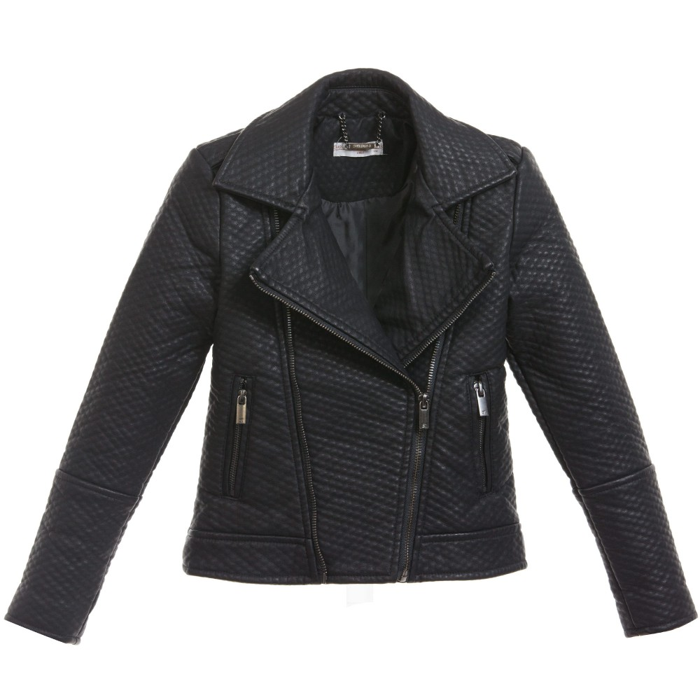 supertrash-girls-girls-black-synthetic-leather-justified-jacket-1