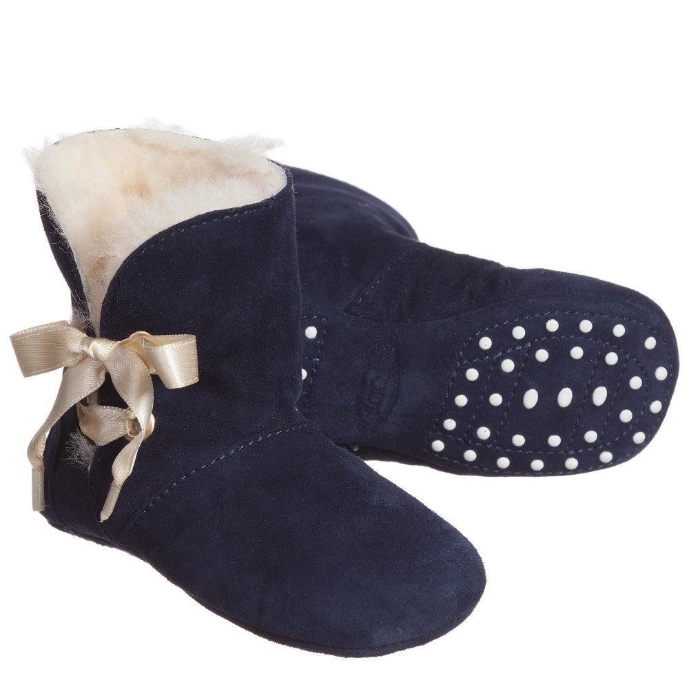 tods-navy-blue-suede-sheepskin-pre-walker-boots-1