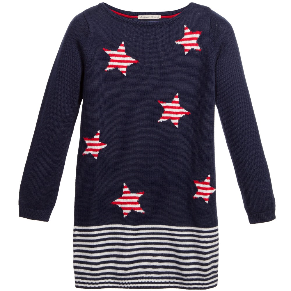 tommy-hilfiger-navy-blue-knitted-cotton-pauline-dress-1