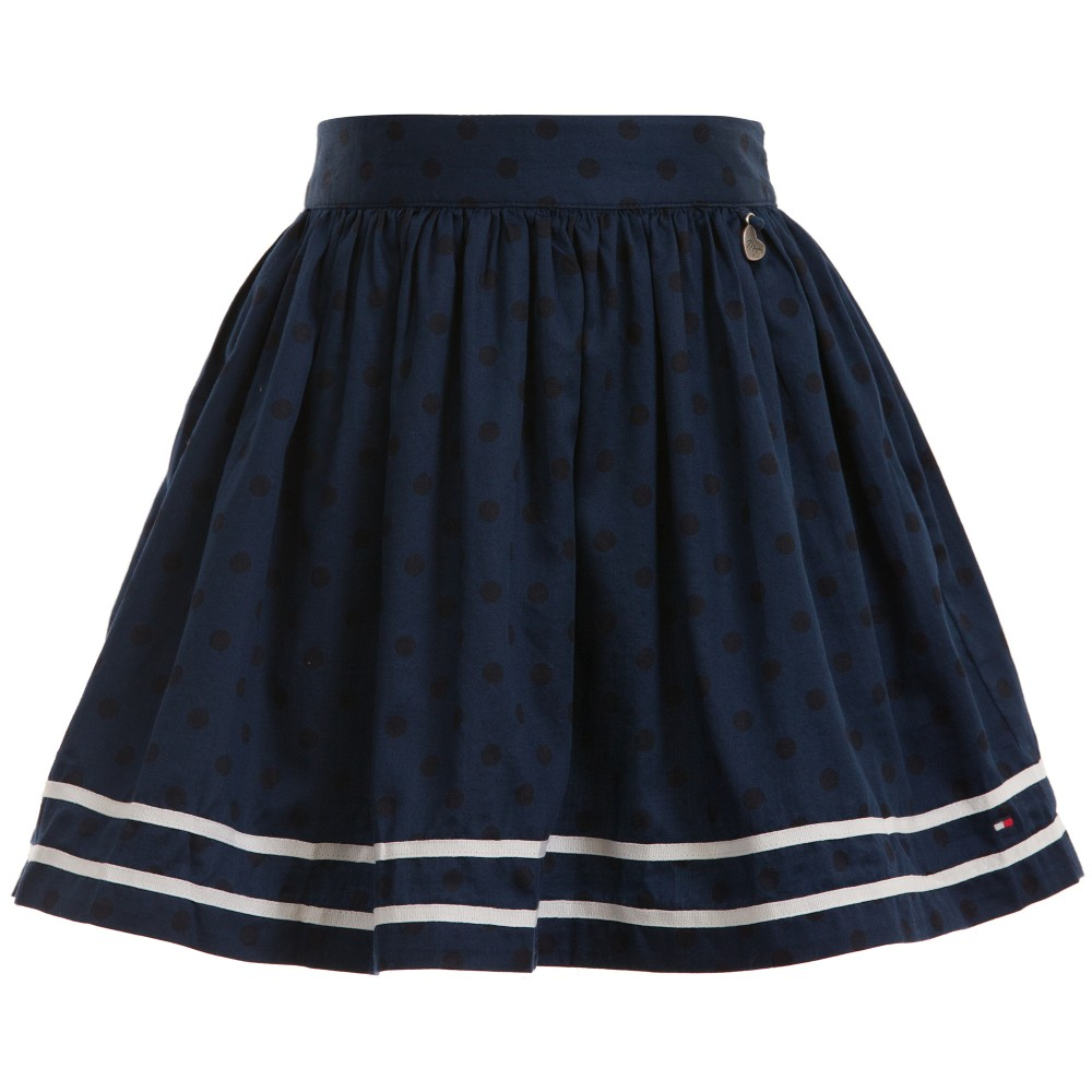 tommy-hilfiger-navy-blue-spotted-cotton-nadine-skirt