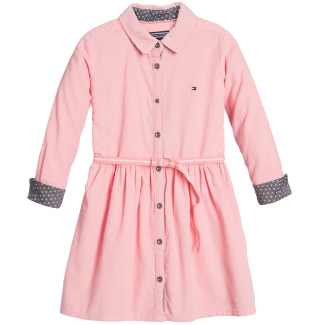 tommy-hilfiger-peachy-pink-cotton-needlecord-dress-1