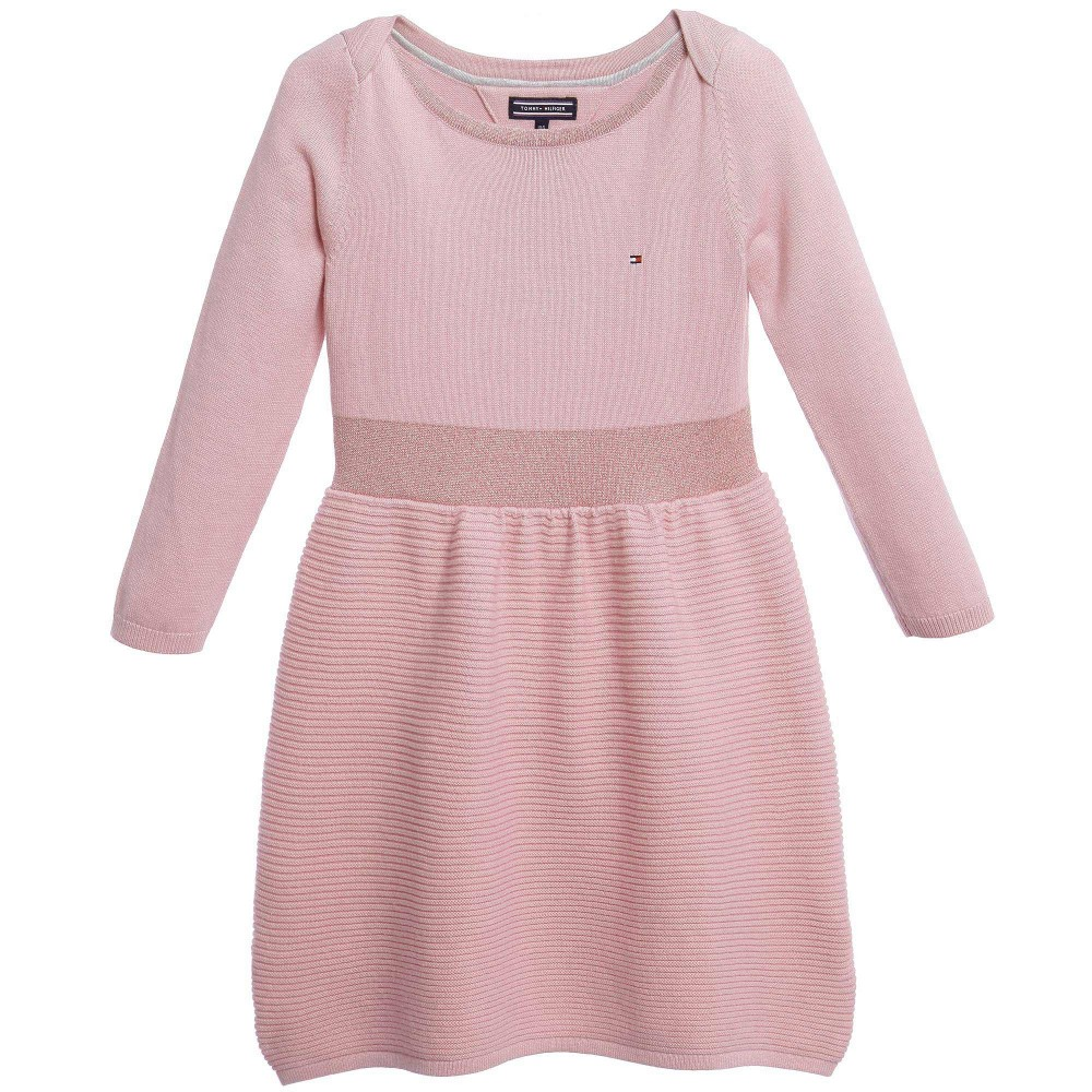 tommy-hilfiger-pink-tess-mini-sweater-dress-1