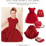 Little lady in red