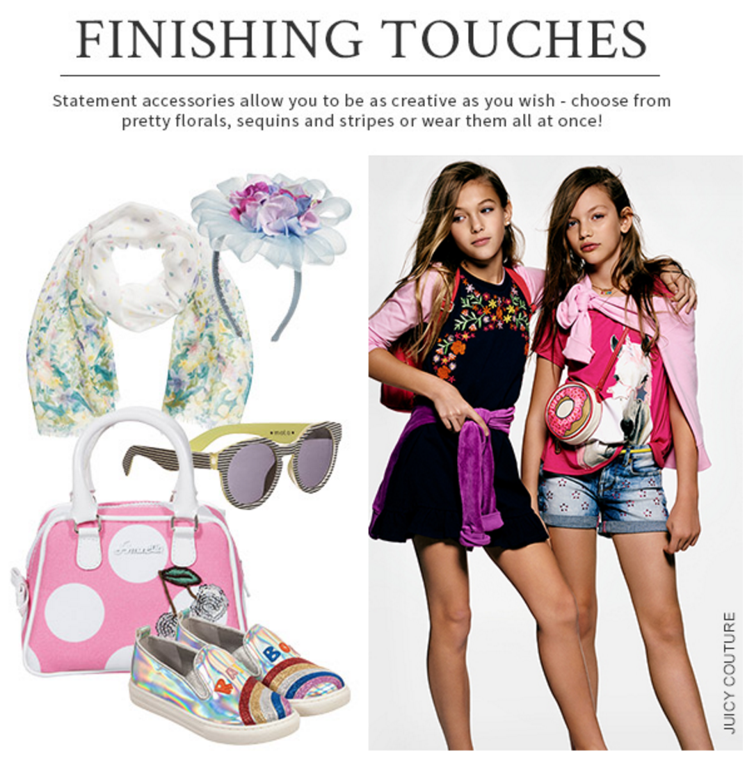 Finishing Touches- Designers Outlook for Girls