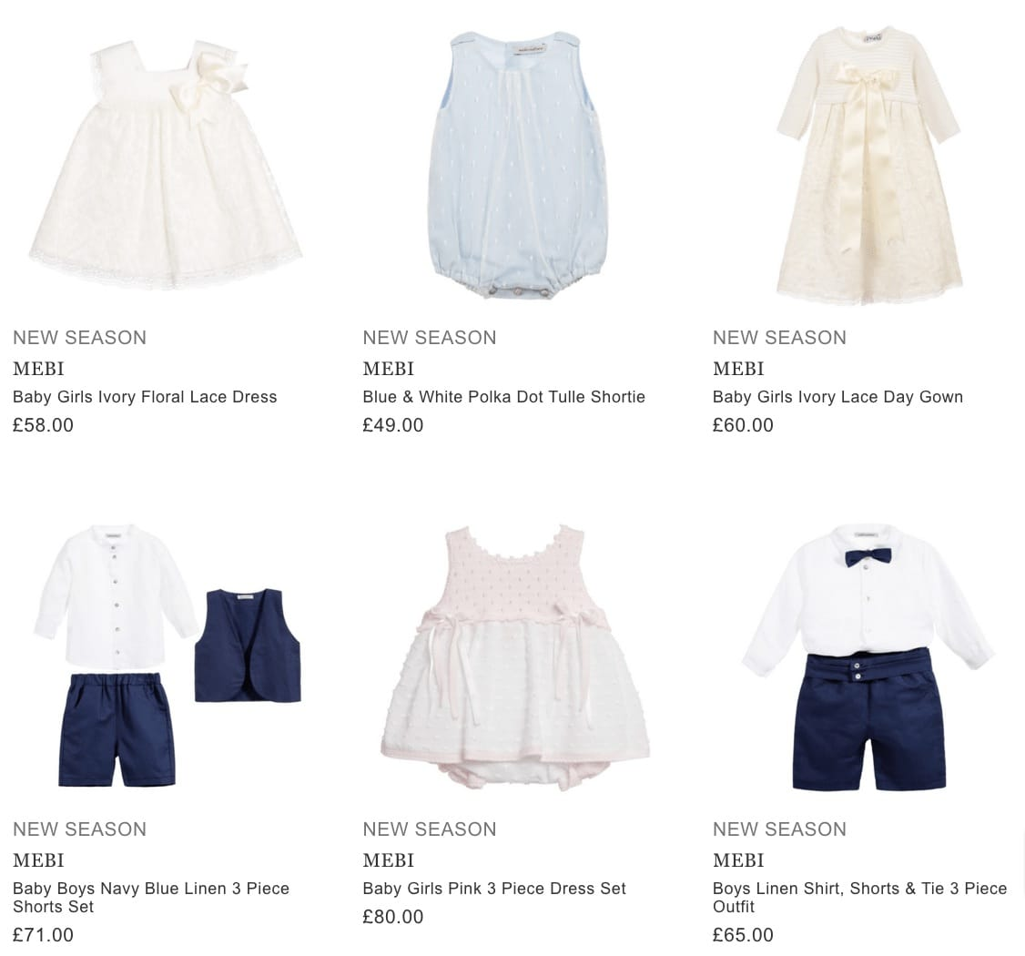 143f47717 Mebi Baby Clothes - Children Boutique