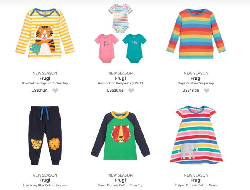 Frugi Kids Organic Clothing