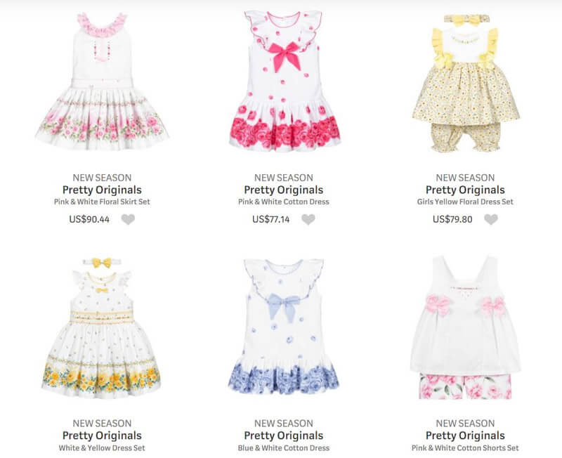 Pretty Originals Traditional Clothing for Kids