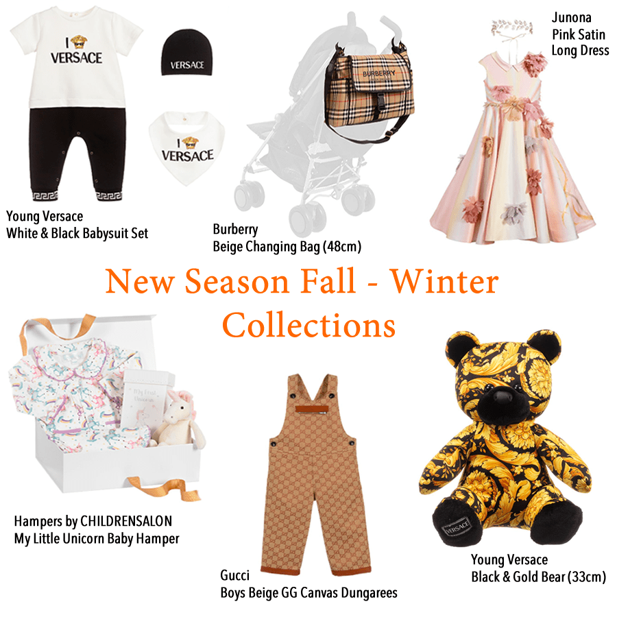 New season luxury children clothes