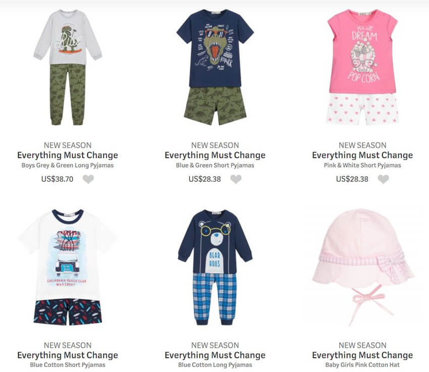 Everything Must Change Kids Clothing