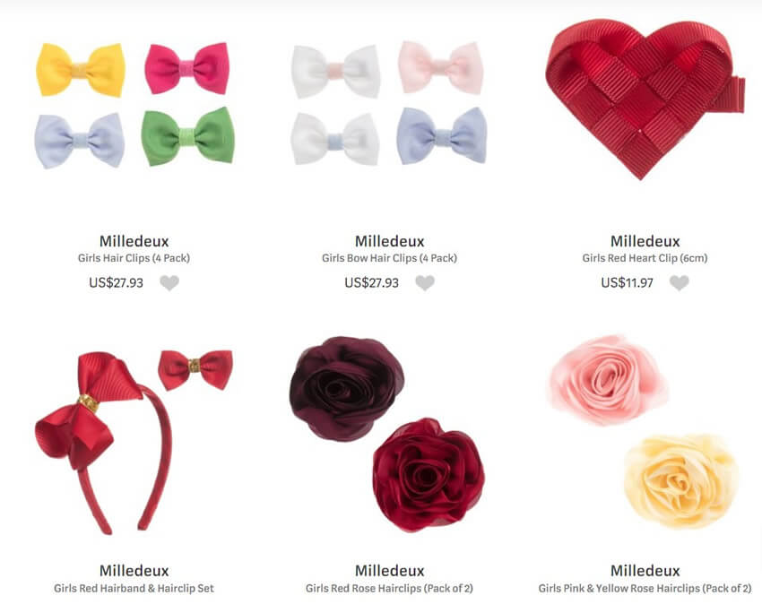 Milledeux Hair Accessories