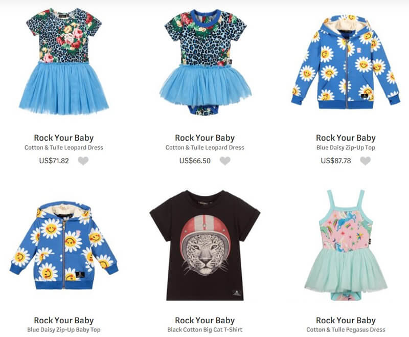 Rock Your Baby Fashion Children's Clothing