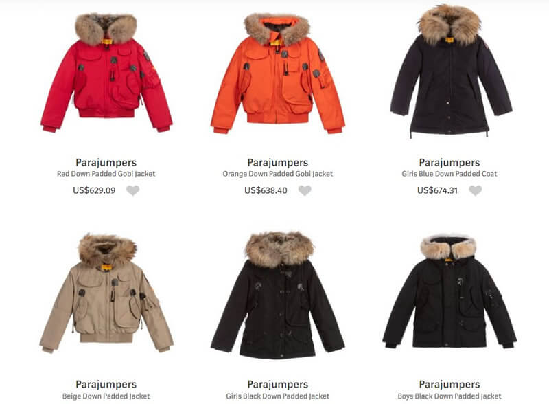 Parajumpers Luxury Outerwear for Children