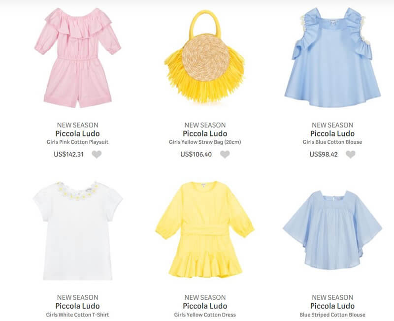 Piccola Ludo Luxury Clothing for Little Girls