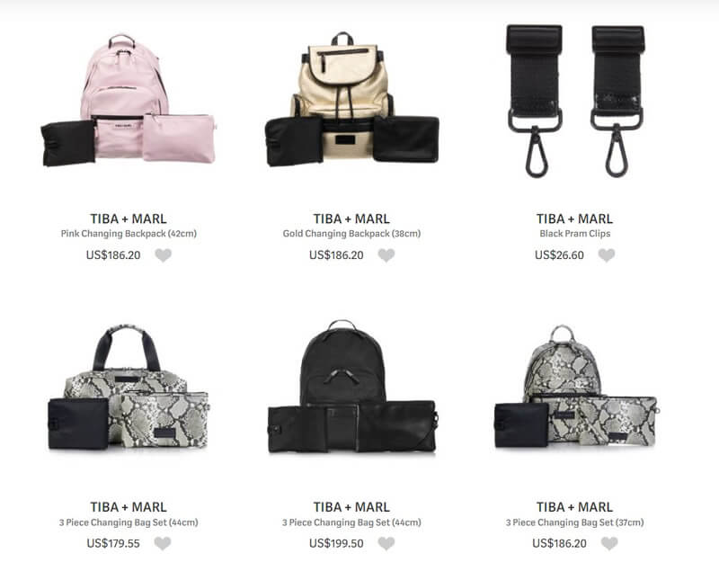 Tiba + Marl Bags and Accessories